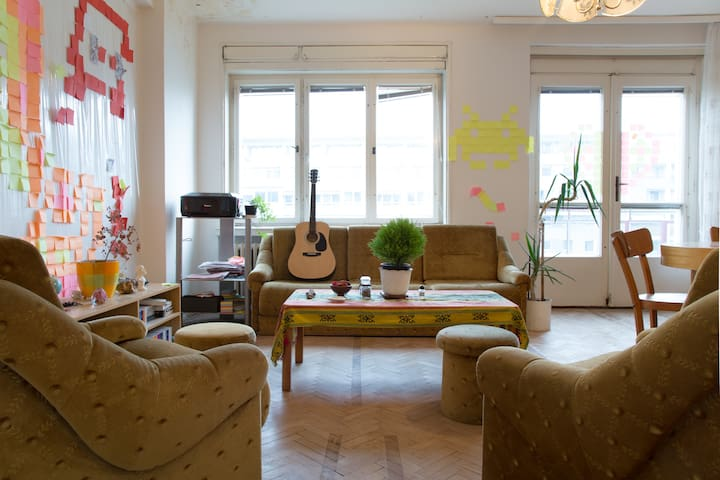 center, prime location, spacious! - Bratislava - Lägenhet