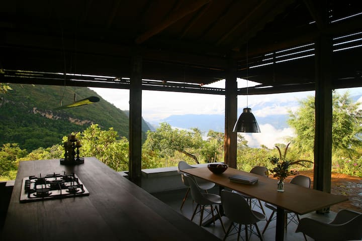Casa La Pitaya, design in a beautiful scenery - Barichara - Hus