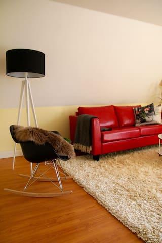 Herzliche und gemütliche Wohnung - Heede - Apartamento