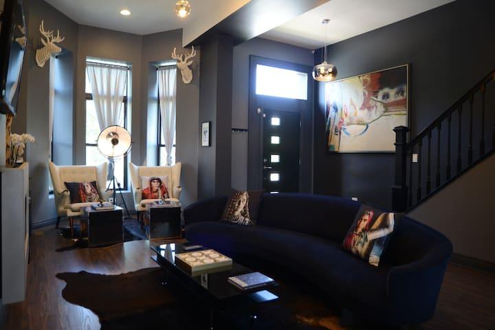 Villa Dubois (Duplex) - シカゴ - 別荘