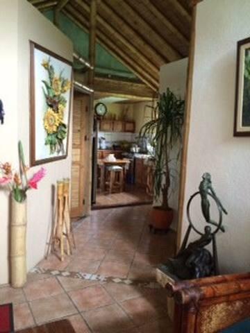 Bamboo House - La Suiza - Huis
