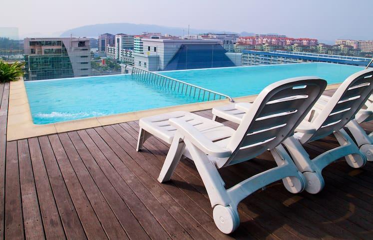 2 Rooms Suite Apartment KK City - Kota Kinabalu