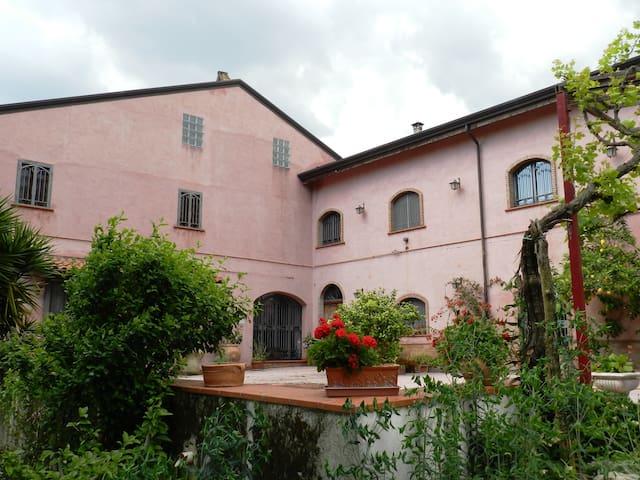 Casale di campagna antico e moderno - Alvignano  - Maison