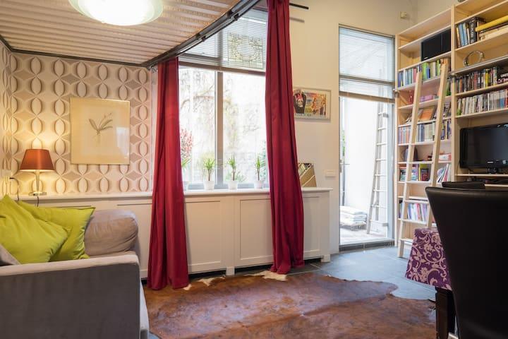 Minihouse historic centre + garden - Лейден - Таунхаус