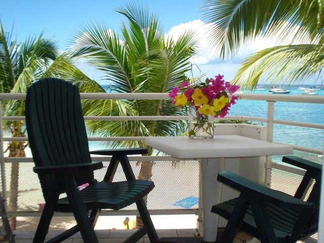 Beachfront condo-Marigot St Martin. - Marigot - Apartament