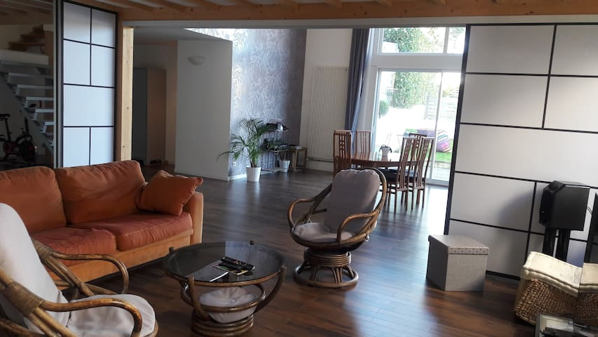 Maison spacieuse au coeur du vignoble nantais - Vallet - 獨棟