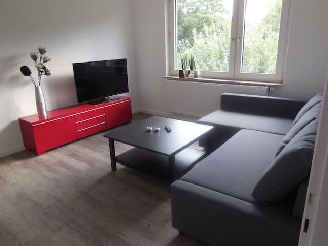 Zentral aber ruhig in Strandnähe mit WLAN - Wilhelmshaven - Lägenhet