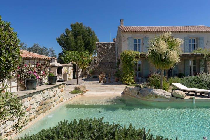Domaine La Veronique - house rental - Puisserguier - Hus