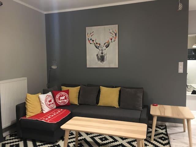 Nowy apartament na Kaszubach - Kościerzyna  - Leilighet
