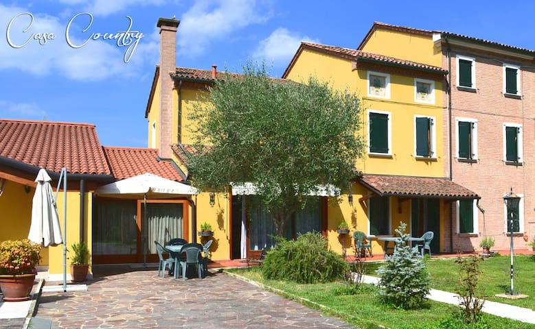 Wi-fi, nice kitchen, air conditioning and garden ! - Mirano - Maison