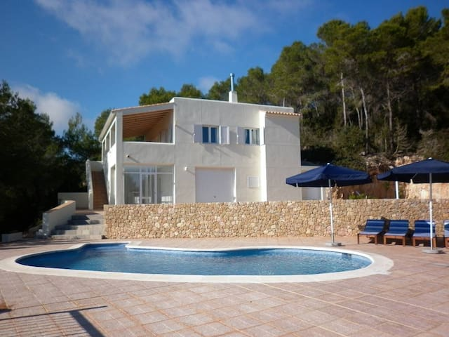 beautiful views with pool in ibiza - Sant Miquel de Balansat