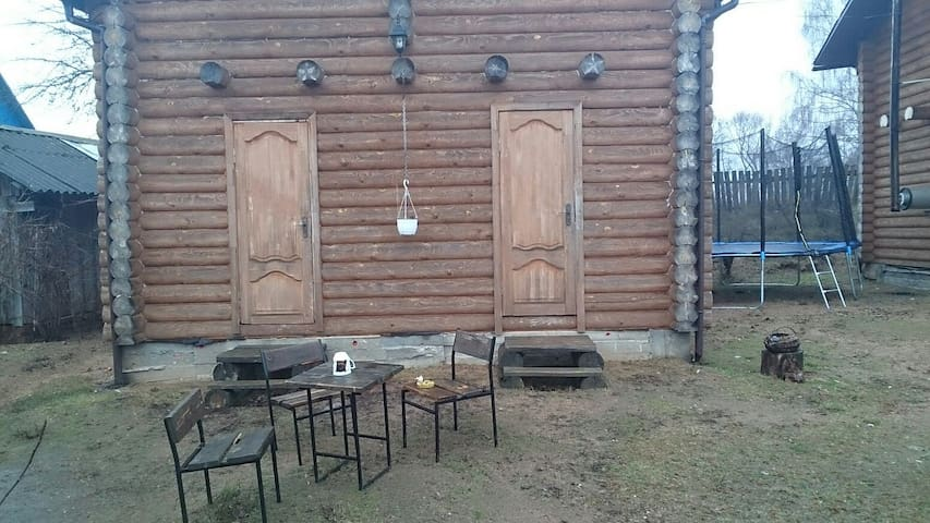 Полдома с отдельным входом - Zaslaŭje - Haus