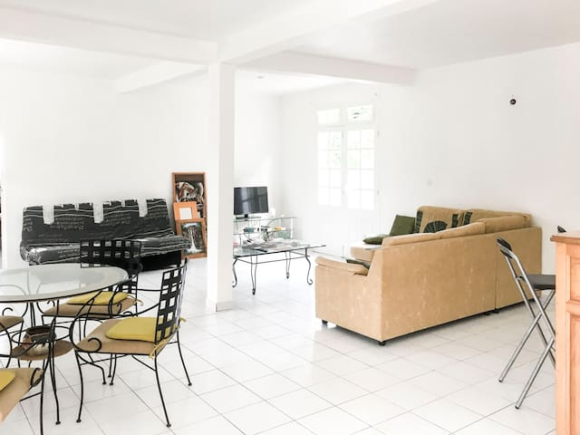 Large Flat between the Beaches and the Countryside - Le Vauclin - Apartment