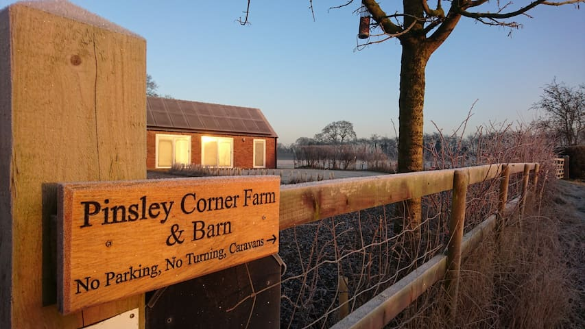 Pinsley Corner Barn - South Cheshire Rural Retreat - Pinsley Green - Σπίτι