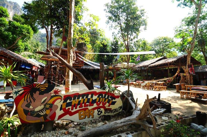 Chillout Bar/Bungalow (12), Tonsai beach - Aonang