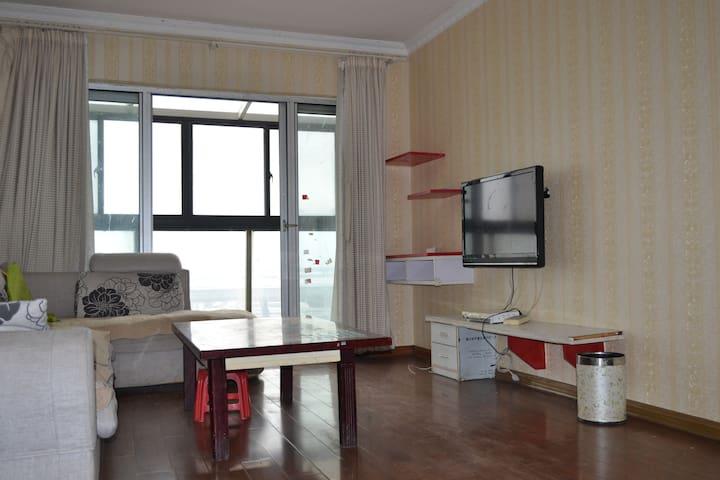 超大阳台两室一厅精装地铁口 - Wuxi - Timeshare