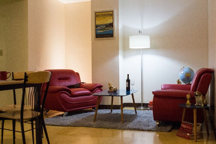 1 private 3-bed room + private bath - Pittsburgh - Leilighet
