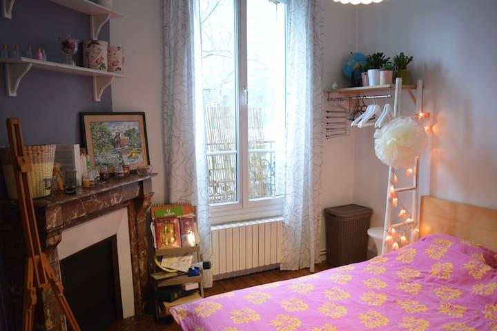 Cosy Room at Paris Doors - Bourg-la-Reine - Lägenhet