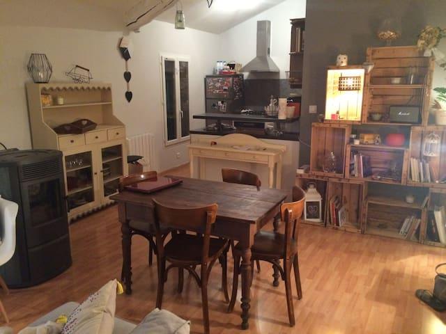 Appartement charmant centre ville - Manosque - Huoneisto
