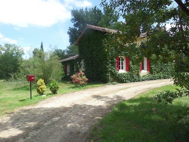Maison LARTET - Bretagne-de-Marsan - Casa