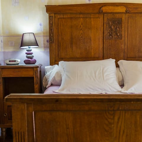 Chambre triple Au Coin des Jardins - Pareid - Bed & Breakfast