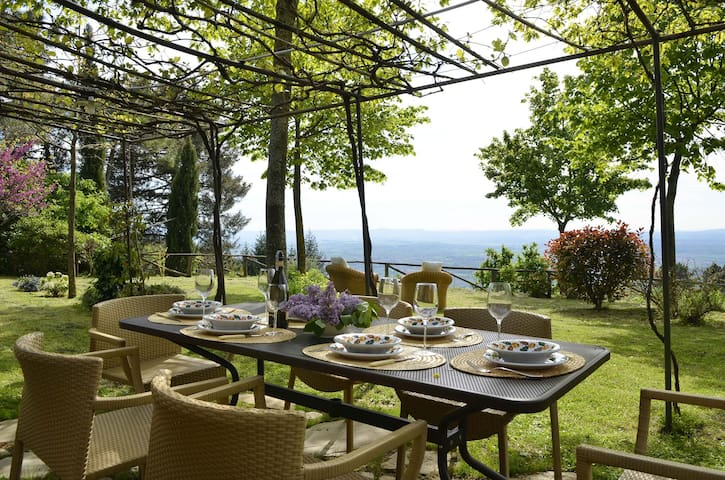 Tuscany House | View Breathtaking - Cortona - Casa