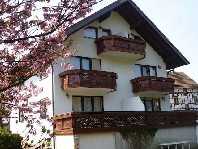 Toller Blick in den Thüringer Wald - Ruhla - Oda + Kahvaltı