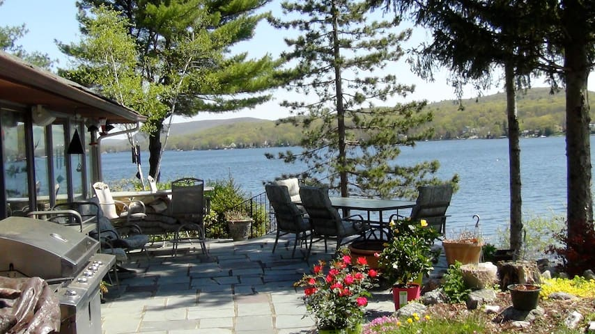 Cozy Lakehouse with beautiful views - West Milford - Casa