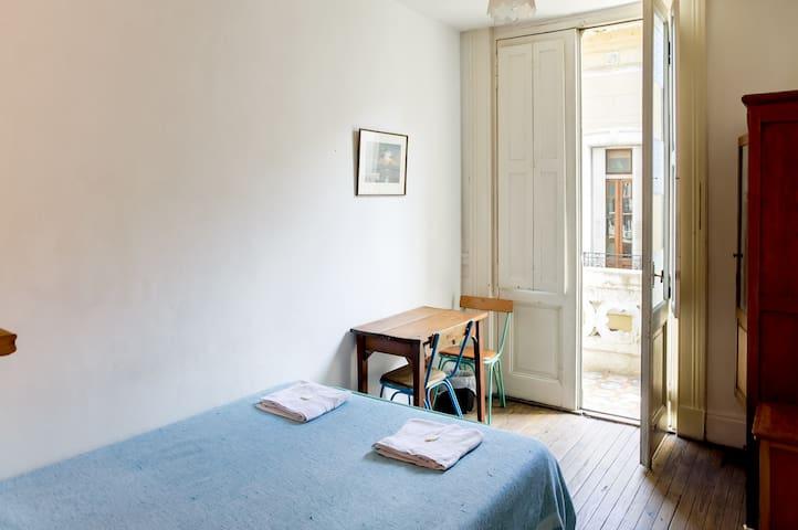 Habitación Privada con Balcón (17) - Buenos Aires - Bed & Breakfast