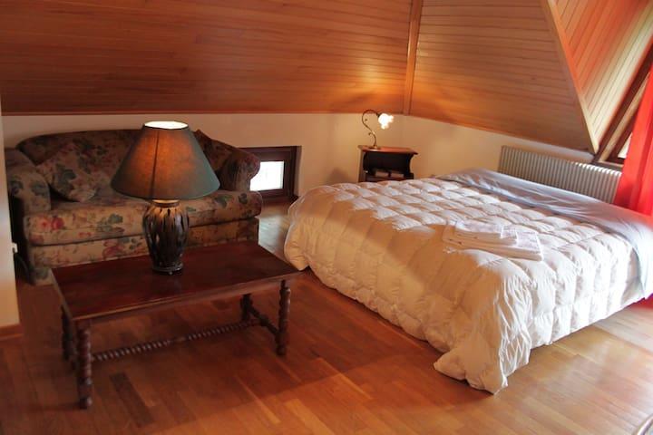 La mansarda di Gabri, con bagno, cucina e balcone. - Tolmezzo - Ev