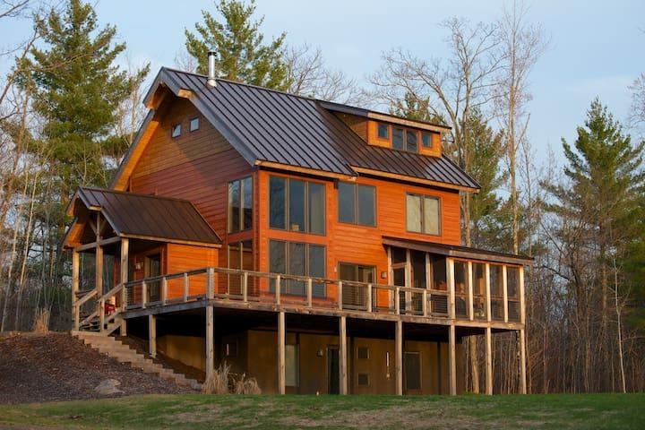 Cabin on the Birkie & CAMBA trails - Hayward - Blockhütte
