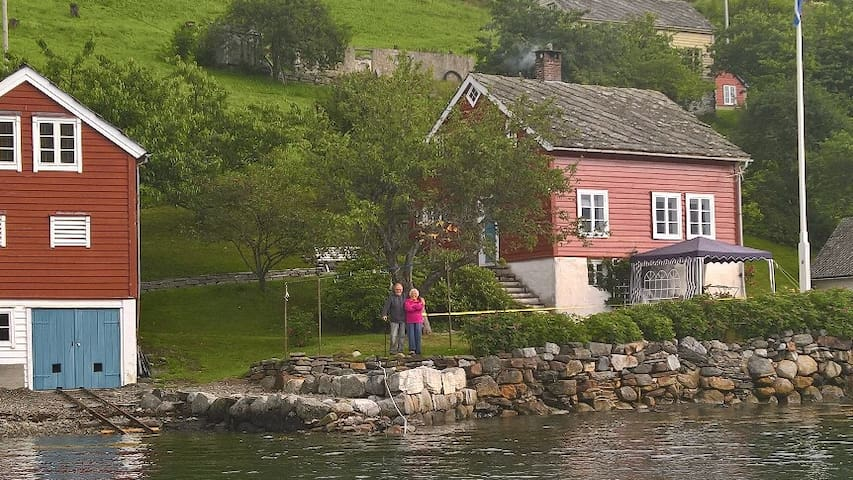 Ystanes, perle ved fjorden.. - Ystanes - 小木屋
