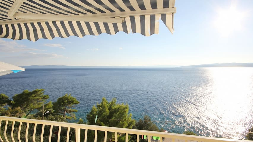 Apartment with amazing sea  view - Krvavica - Appartement