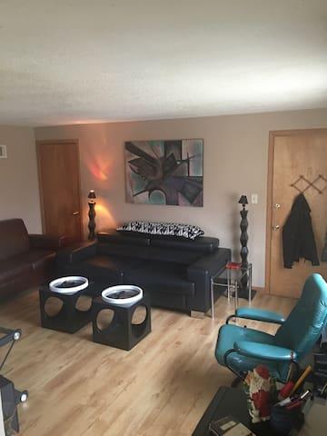 Stylish west Milwaukee Apt Priv RM - Milwaukee - Apartemen