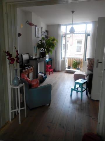 sfeervolle ruime bovenwoning 2slpk - The Hague - Apartment