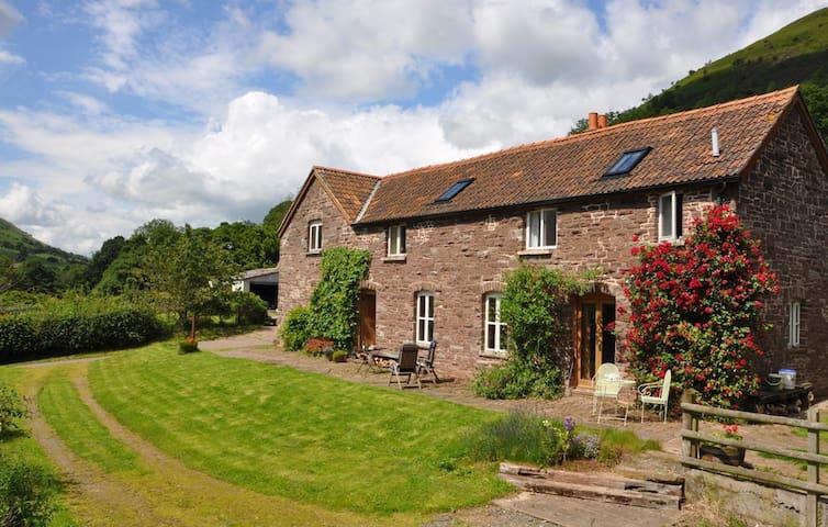 Flagstone Cottage, Broadley Farm - Abergavenny - Hus