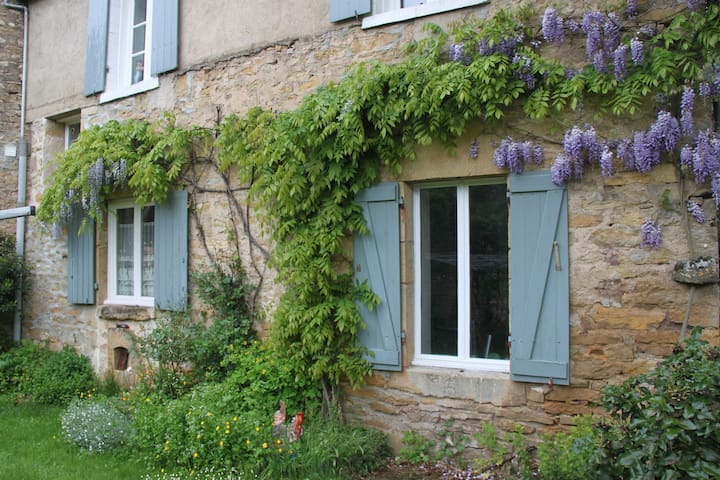 Peaceful retreat in rural Burgundy - Givry, Yonne - Гестхаус