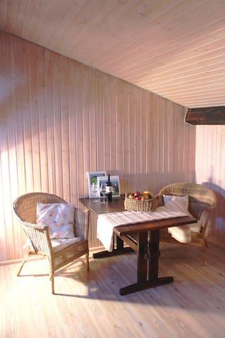 Rustikale Wohnung auf dem Bauernhof - Miesbach - Apartemen