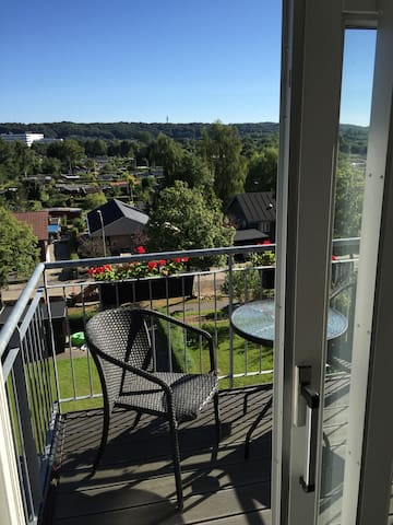 Classic and charming 2 bedroom apartment w. a view - Vejle - Wohnung
