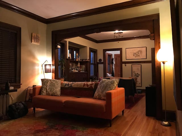 Warm and Cozy South Minneapolis Lower Duplex - Minneapolis - Apartemen