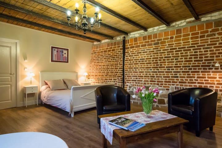 BandB charm with private sauna and stove - Berneville - Oda + Kahvaltı