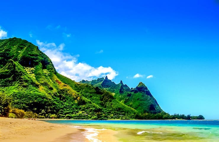 NEW! North Shore Honeymoon Hideaway condo - Princeville