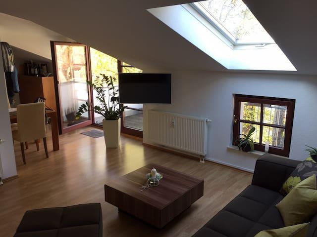 Charmante DG-Wohnung - Leipzig - Apartment