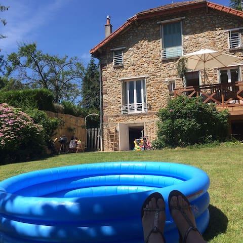 Maison de charme à la campagne, 30 min de paris - La Queue-lez-Yvelines - 獨棟