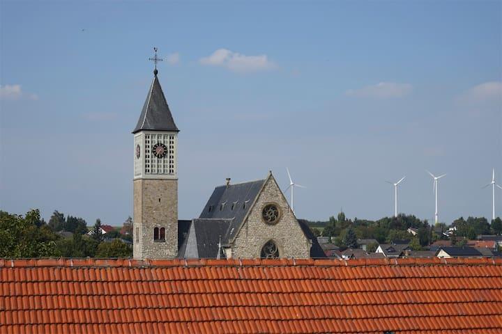 Ferienwohnung in rheinhessischer Hofreite - Zornheim - Huoneisto