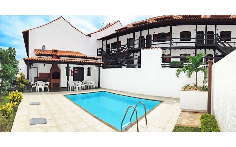 Rustic duplex near Beach&Dunes Pool - Cabo Frio - Appartement en résidence