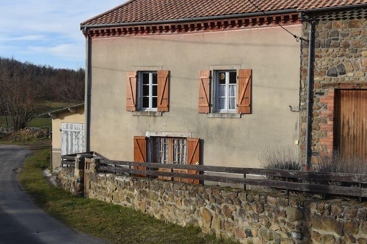 Gîte La Fenière - Saint-Étienne-sur-Usson - Huis