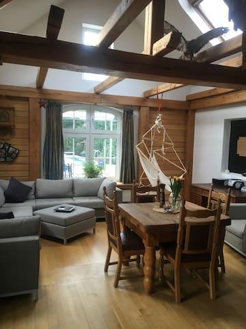Super gemütliches Häuschen zum Wohlfühlen - Neukirchen-Vluyn - Gjestehus