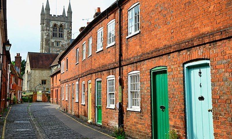 Beautiful 1820 's listed cottage - Farnham - Maison