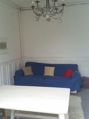 Bel appartement ancien avec jardin - Les Pavillons-sous-Bois - Lägenhet